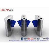China ZK Access Optical Swing Gate Turnstile / Controlled Access Flap Berrier System wholesale