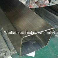 China OD 6mm - 660mm Stainless Steel Welded Pipe Square Cold Drawing 300 Series wholesale