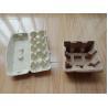 China Recycled Waste Paper Egg Carton Making Machine 350 -1300 Pcs / H Speed wholesale