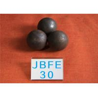 China D30MM 62-63hrc Grinding Resistant Solid Steel Ball for Mine Machinery , Grinding Media Steel Balls wholesale