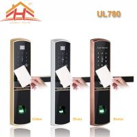 China High Efficiency Smart Card Door Lock with Fingerprint Recognition wholesale