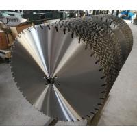 Buy cheap 800mm Laser Wall Saw Blades For Fast Cutting High Strength Reinforced Concrete from wholesalers