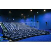 China Removable 3D theater seating system for 6 / 12 / 50 Persons , Attractive 4D 5D motion movies wholesale