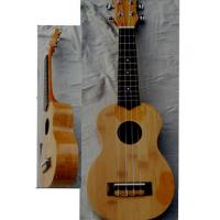 China replacement string Bamboo Wood Hawaii Guitar Ukulele with Nato neck AGUL18 wholesale