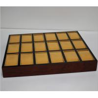 China High Quality Wooden Bracelet Box Jewellery Packaging Storage Tray For Watch wholesale