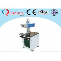 Buy cheap Easy Moving Laser Wire Marking Machine , 3W White Plastic Engraving Machine from wholesalers
