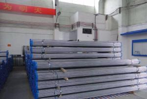 China Hot dipped galvanized round steel pipe/BS 1387 / ASTM A53 black galvanized structure steel pipe/carbon steel drain pipe wholesale