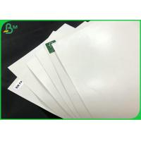 China Food - Contact Cup And Bowls Material 15gsm PE Coated Waterproof Paper Board wholesale