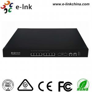 China L2 Managed 8-Port 1G / 10G Base-T + 2-Port 10G SFP+ Gigabit Ethernet Switch wholesale