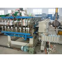 Quality Hollow Cross Section Plate Plastic Sheet Making Machine / Plastic Sheet Extruders for sale