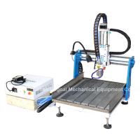 China Gantry Moving Desktop Aluminum CNC Router Machine with DSP A11E Offline Control wholesale