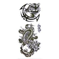 Quality New Temporary Tattoos Black & White Design Authentic for sale