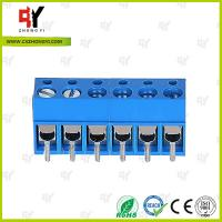 Buy cheap HQ300-5.0 PCB Terminal Block 5.0 Wire Range 22- 14 AWG , Connector Terminal from wholesalers