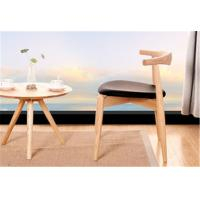 Living Room Modern Furniture Chairs Low Back Wooden Dining Chairs With Padded Seats