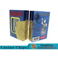 China Special Design Custom Plastic Playing Cards For Casino Games Dedicated wholesale