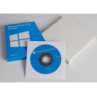 China Activated Online Microsoft Windows Server 2012 Standard Retail Box DVD Key Card wholesale