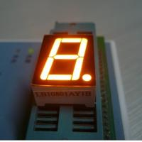 China Indoor One Digit Graphics Seven Segment Led Display Full Color RoHS CE Approved on sale