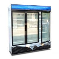 China Energy Efficiency Commercial Display Freezer Open Top With Digital Elitech Thermostat wholesale