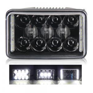 China Black IP67 4x6 Led Headlight 10-30V DC Custom Sealed Beam Head Lamp For Cars on sale