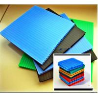 Quality Recyclable Environment Friendly Coroplast Corrugated Plastic Sheets PP Flute Board for sale