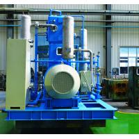 China Nitrogen booster compressor 2LY9.2/30-Ⅱ 3Z3.51.67/150, Vertical ,two row,two stage,casting steel, blue colour wholesale