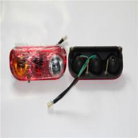 China Three Color Square Led Tail Lights , Small Car Led Tail Lights Energy Saving wholesale