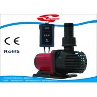 China 3000L/H high flow solar DC water pump with filter for Fountain and Aquarium wholesale