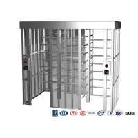 Quality Double Passage Controlled Access Turnstile Rapid Identification For Stadium for sale