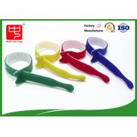 Buy cheap Great holding power hook and loop cable ties 12mm Width 150mm Length product