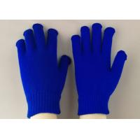Quality 100% Acrylic Material Working Hands Gloves Soft Touching EN388 Certificated for sale