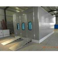 China Automotive Paint Spray Booth for garage  , exhaust fan and intake fans wholesale