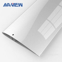 China China Manufactured Superior Extruded Aluminum Airfoil Extrusion Blades wholesale