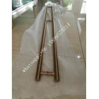 China Customized glass door color stainles steel handle foshan china factory wholesale