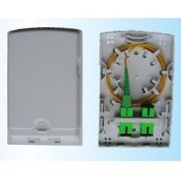 China Single & Multi Mode 4 Cores Fiber Access Terminal Wall Outlet 86 Type130×84×24mm wholesale