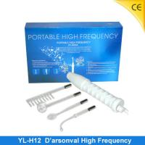 China Purple Darsonval Skin Whitening Ultrasonic Skin Scrubber Machine For Hair Care YL-H12 wholesale