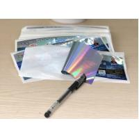 China PP / PVC paper Clear High Gloss Labels , Custom Self Adhesive Stickers wholesale