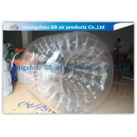 China PVC Transparent Inflatable Rolling Ball , Funny Huge Inflatable Walk On Water Ball wholesale