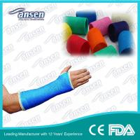 China OEM available Manufacturer of orthopedic casting tape with CE & FDA certified wholesale