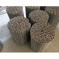 Custom Balanced Net Wire Conveyor Belts High Temperature Oxidation Proof