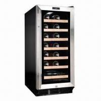 China 26 Bottles Single-zone Compressor Cooling Wine Cooler/Cellar, Built-in or Free-standing wholesale