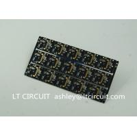 China Gold Plating Custom Pcb Manufacturing Black Soldering With IC Lead BGA wholesale