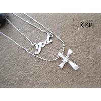 China 925 sterling silver necklace with zircon W-TZ055 wholesale