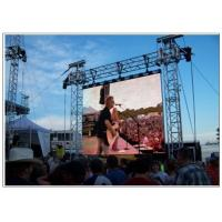 China LED Outdoor Screen Hire for Stage , Commercial P10 P16 P8 Rent Video Wall Displays wholesale