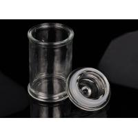 China Eco Friendly Glass Jar Candle Holders Replacement Shock Resistant wholesale