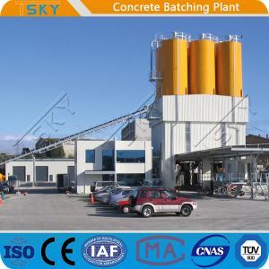 China Modular Structure 180m3/H HZS180 RMC Concrete Plant wholesale