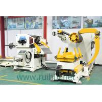 Buy cheap 1000 Width Decoiler And Straightener With Powerful Auxiliary Function And High Efficiency from wholesalers