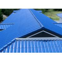 China Recyclable Aluminium Roofing Sheet Corrugated High Performance In Natural Color wholesale