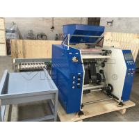 Quality High Accruacy Plastic Film Slitting Machine Speed Controlled By AC Motor + for sale