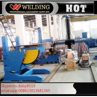 China Lifting Height Adjustable Pipe Welding Rotary Positioner High Precision 300kg Manual Revolve wholesale