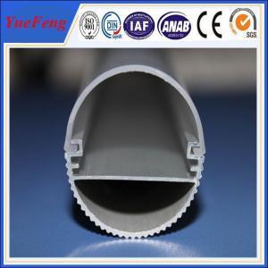 China 6000 series led aluminum profile for led strip lights, alu heating radiator led light bars wholesale